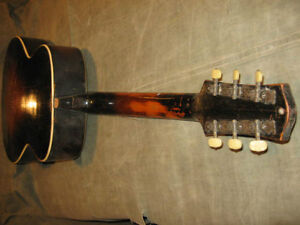 RADIOTONE Archtop solid woods made in 1937 Gatineau Ottawa / Gatineau Area image 4