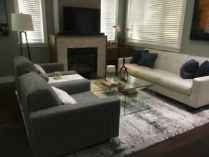 Contemporary Sofa and Chairs, Excellent Condition!!
