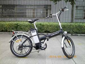 Electric Bicycle F20 Folding - The camper's companion!