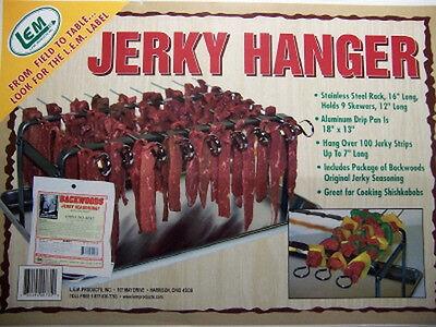 LEM Brand Beef Jerky Hanger Oven Rack - Strips Dehydrator, W