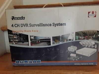 Zmodo 4-Channel DVR Surveillance System, NO Hard Drive