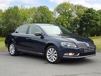 Volkswagen PASSAT HIGHLINE TDI BLUEMOTION TECHNOLOGY (blue) 2013