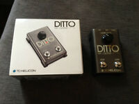 TC Helicon Ditto Mic Looper Excellent condition