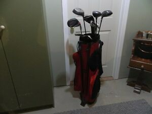 Rj Stand Golf Bag with Drivers & other clubs