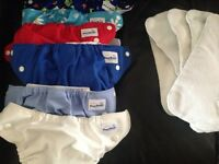 Couches lavables Fuzzi Bunz Small diapers washable