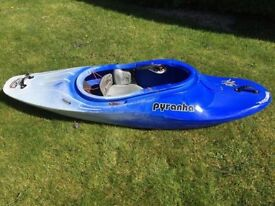 Pyranha Recoil Kayak Small White Water River Running Playboat Canoe