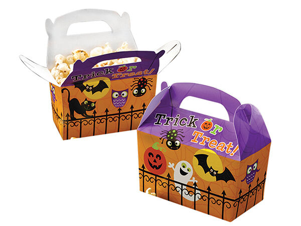 Happy Halloween Trick or Treat Boxes