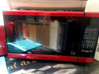 Morphy Richards red 800w (E) microwave