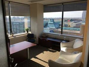 Executive Corner Window Office Overlooking London!