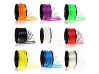 RepRap MarkerBot 8 Packets Various Colours3D Printer Filament 3mm PLA 1kg/2.2lb