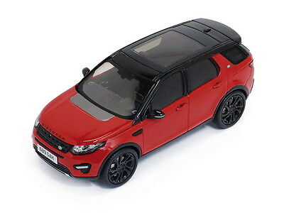 Land Rover Discovery 4х4 2015 Red/Black Roof Premium X PRD402 1:43