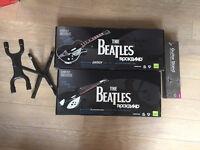 Xbox 360 Beatles Rock Band Guitar Set