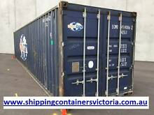 40ft Shipping Container. Cargo Grade. Water and Vermin Proof. Sunshine West Brimbank Area Preview