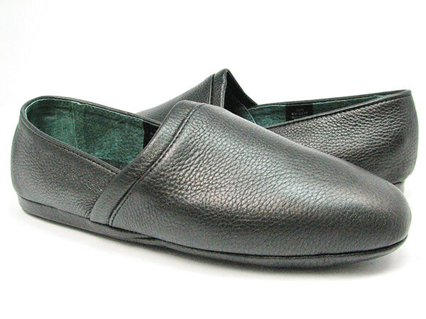 L.B. Evans Leather Slippers