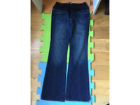 Page maternity jeans size 30