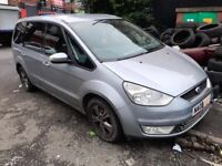 2008 FORD GALAXY 2.0 tdci (7G9Q6L084FB) AUTO SILVER(BP) breaking for parts