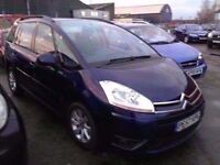 [57] c4 picasso 7 2.0 7 seater mpv parking sensors alloys air con 12 months mot 3 months warranty