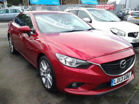 2013 MAZDA 6 2.2d Sport Nav FULL LEATHER