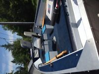 16 foot Sprinbok Aluminum boat with Trailer $3000 OBO