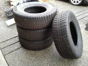 "MICHELIN SNOW TIRES 15"". SET OF FOUR"