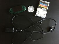 Limited Edition Metal Gear Peace Walker Green PSP w/ FREE BONUS