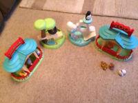 ELC Happyland zoo set