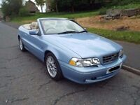 VOLVO C70 2.0T AUTO CAB - LOVELY COLOUR - NEW MOT
