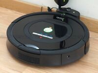 Roomba 770 robotic vacuum cleaner / NEW with hepa filters