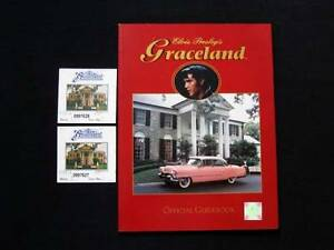 Elvis Presley's Graceland Official Guidebook + 2 Tickets Loganholme Logan Area Preview