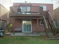 Basement Apt for rent in scenic south Ajax