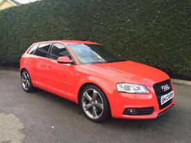 Audi A3 s line 170bhp black edition March 2012