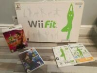 Wii fit Board and games
