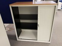 Tambour Door Storage Cupboard