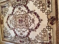 Geart condition small rug and matching runner both $55