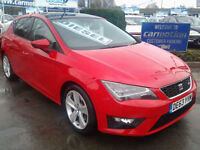 Seat Leon 2.0TDI FR [Technology Pack] (HALF LEATHER+SAT NAV)