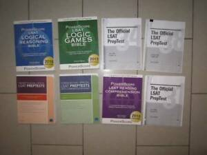 PowerScore LSAT Law Prep Books