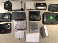 WANTED: SEGA, NINTENDO, SONY, XBOX VIDEO GAMES, RETRO AND NEW. CONSOLES and GAMES