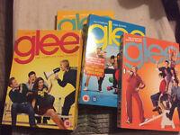 Glee seasons 1-4 on dvd