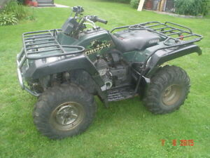 Pieces DE Yamaha grizzly 600