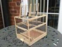 Brand new twin Wooden bird/finch trap