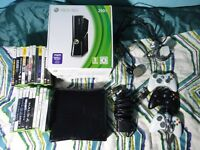 Xbox 360 250 GB, and more than 20 games for sell !!