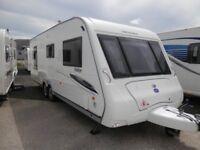 2009 COMPASS RALLYE 644 FIXED ISLAND BED TWIN AXLE £1000 OFF
