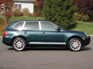 2004 Porsche cayenne turbo wheels and tires