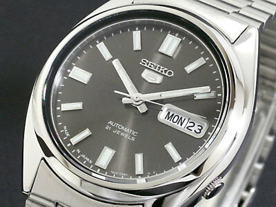 New Seiko 5 Automatic 21 Jewels Japan Made Mens Watch   SNXS79J1  SNXS79