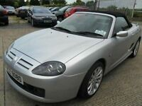 mg tf 115 sunstorm silver 30000 miles 2004 1.6