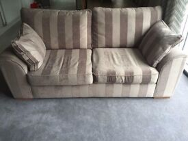 Next Sofa, Chair and Footstool