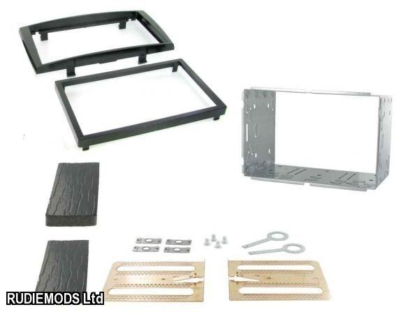 Peugeot 308 07 on Piano Black Double Din Car Stereo Fitting Kit Facia CT23PE04