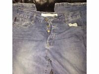 Men's Used HAMNETT jeans light stonewashed W32 x L 32 DESIGINER JEANS FOR ONLY £20.00