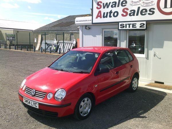 2004 VOLKSWAGEN POLO 1.2 E 55 - FULL SERVICE HISTORY - SOLD AS SPARES OR REPAIRS