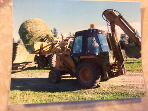 1981 Case 580D Extendahoe Backhoe